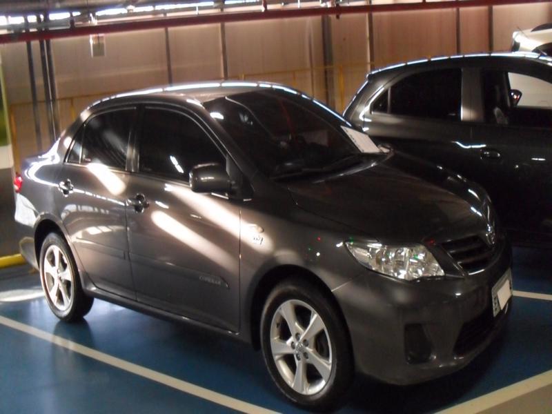 Feirão Auto Show Shopping ABC - TOYOTA COROLLA GLI 1.8 FLEX 16V  AUT. 2011-2012