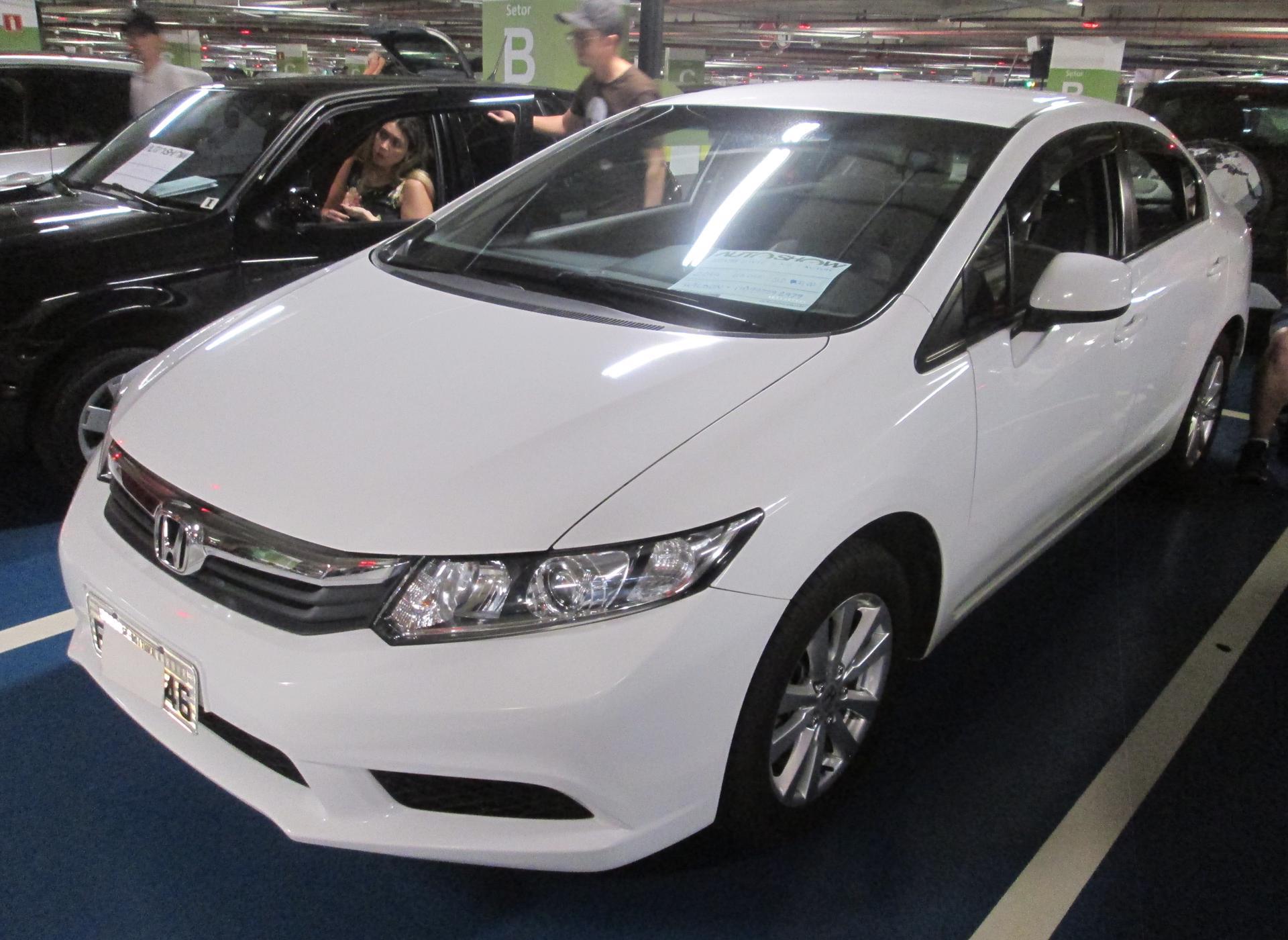 Feirão Auto Show Shopping ABC - HONDA CIVIC SEDAN LXS 1.8/1.8 FLEX 16V AUT. 4P 2014-2014
