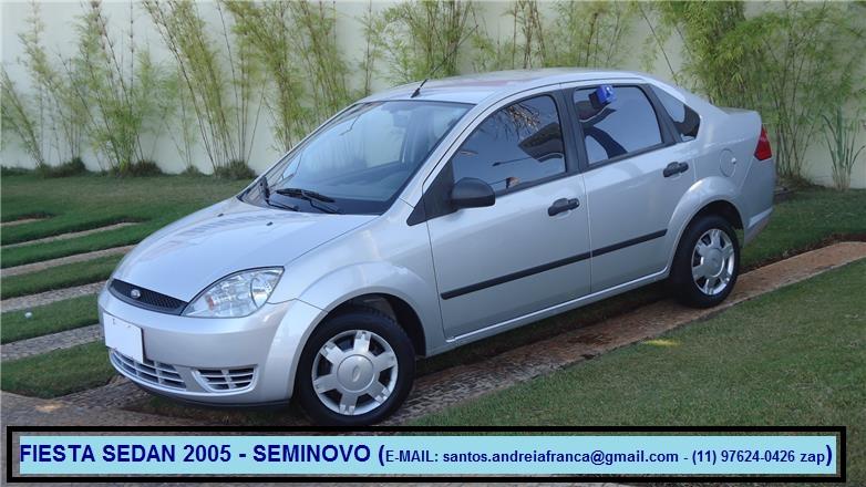 Feirão Auto Show autoshow - FORD FIESTA SED. SUPERCHARGER 1.0 8V 4P 2005-2005
