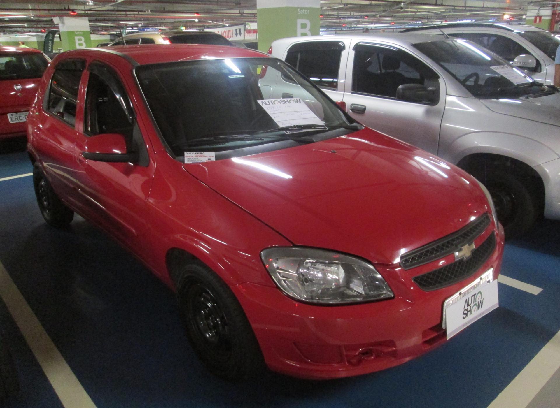 Feirão Auto Show Shopping ABC - CHEVROLET CELTA LT 1.0 MPFI 8V FLEXP. 5P 2012-2012
