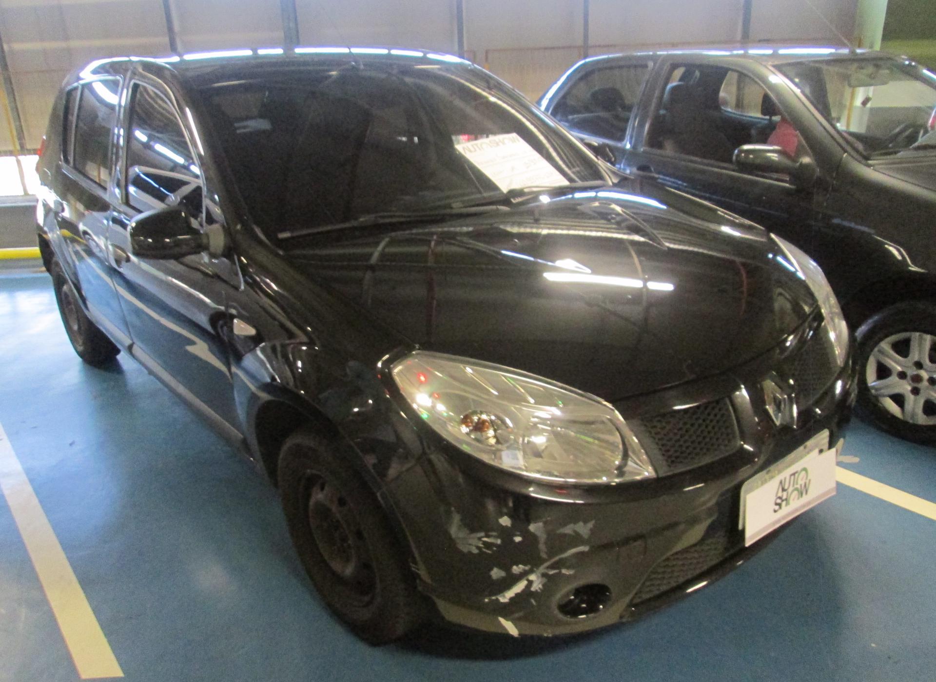 Feirão Auto Show Shopping ABC - RENAULT SANDERO AUTHENTIQUE HI-FLEX 1.0 16V 5P 2011-2011