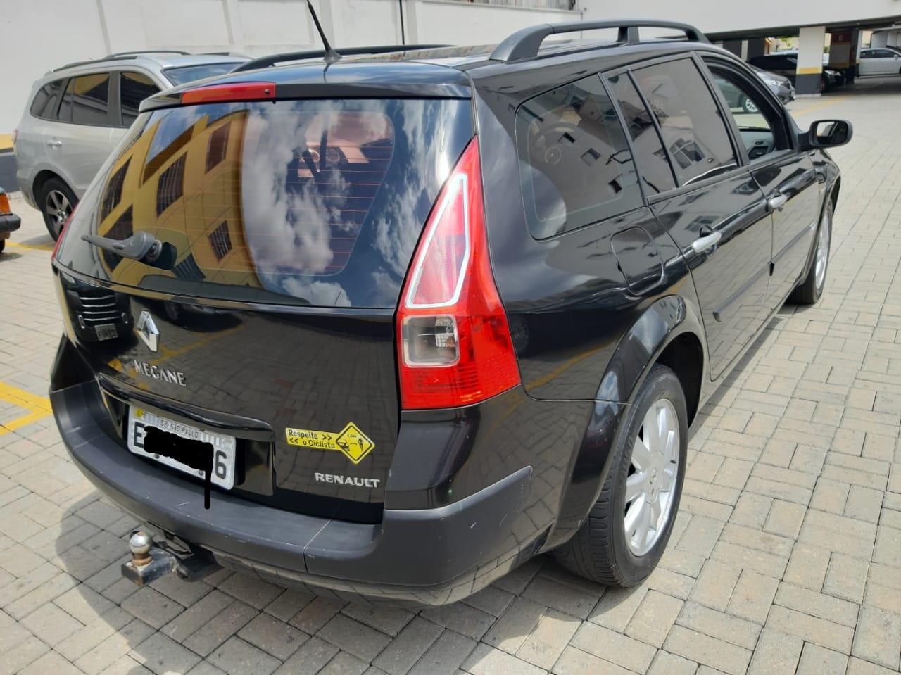 Feirão Auto Show Anhembi - RENAULT megane GRAND TOUR DYNAM. HI-FLEX 1.6 16V 2009-2010