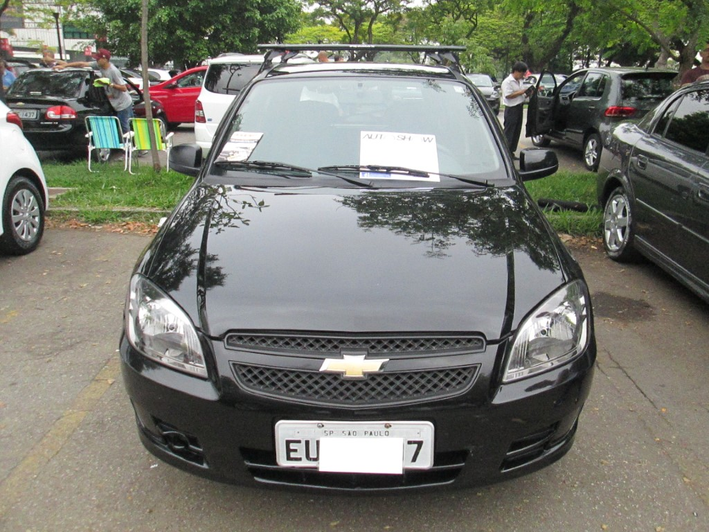 Feirão Auto Show Anhembi - CHEVROLET CELTA SPIRIT/ LT 1.0 MPFI 8V FLEXP. 5P 2011-2012