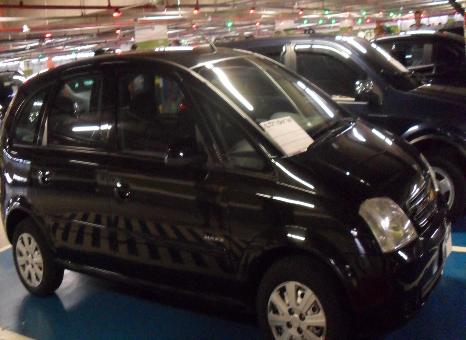 Feirão Auto Show Shopping ABC - CHEVROLET MERIVA MAXX 1.4 MPFI 8V ECONOFLEX 5P 2010-2010