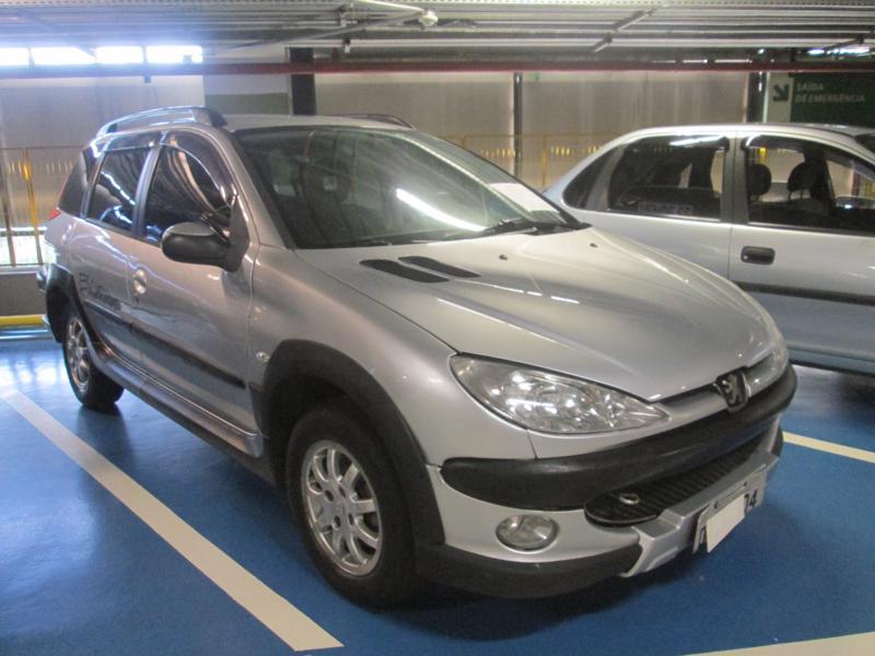 Feirão Auto Show Shopping ABC - PEUGEOT 206 SELECT./PRESENCE 1.6/1.6 FLEX 16V 5P 2006-2007