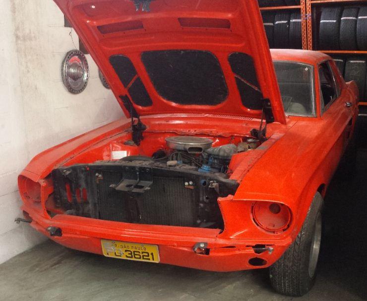 Feirão Auto Show  - FORD MUSTANG HARDTOP 1967-1968