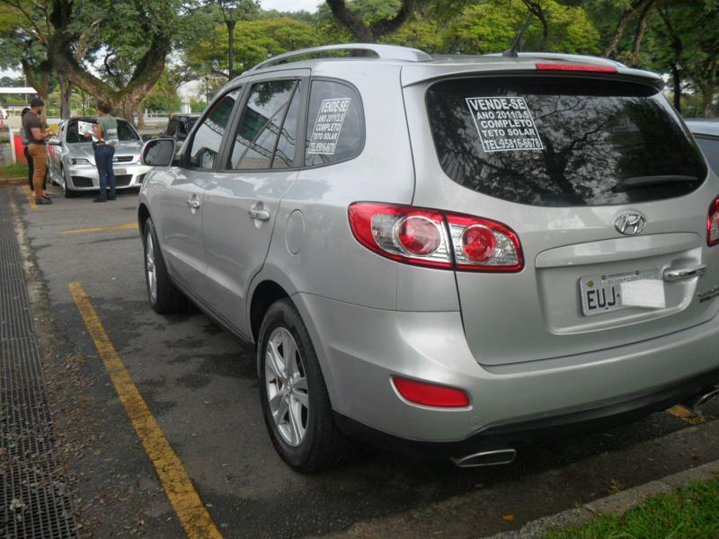 Feirão Auto Show Anhembi - HYUNDAI SANTA FE GLS 3.5 V6 4X4 TIPTRONIC 2010-2010