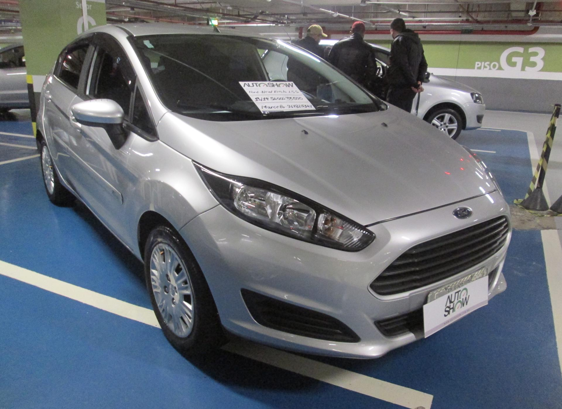Feirão Auto Show Shopping ABC - FORD FIESTA  New Fiesta Hatch S 1.5 16V FLEX MEC. 2013-2014