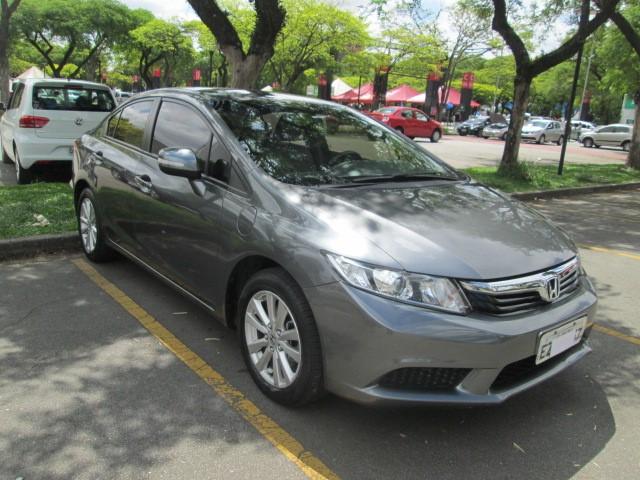 Feirão Auto Show Anhembi - HONDA CIVIC SED. LXL/ LXL SE 1.8 FLEX 16V AUT. 2012-2013