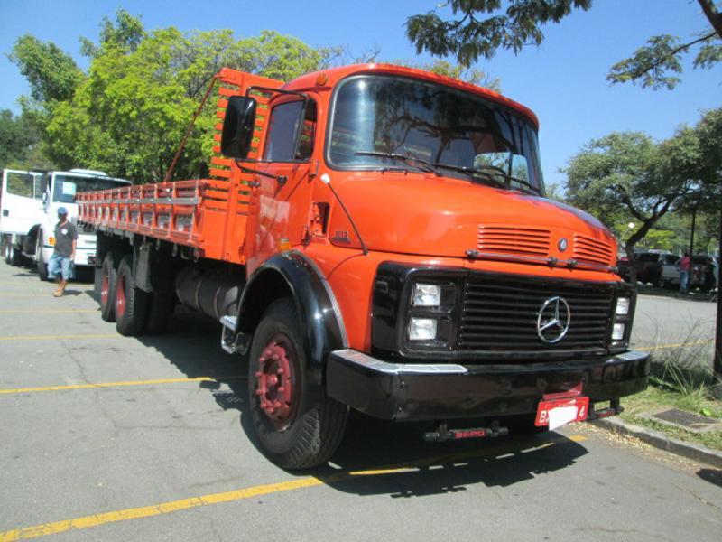 AutoShow Anhembi - MERCEDES-BENZ L-1113 1985