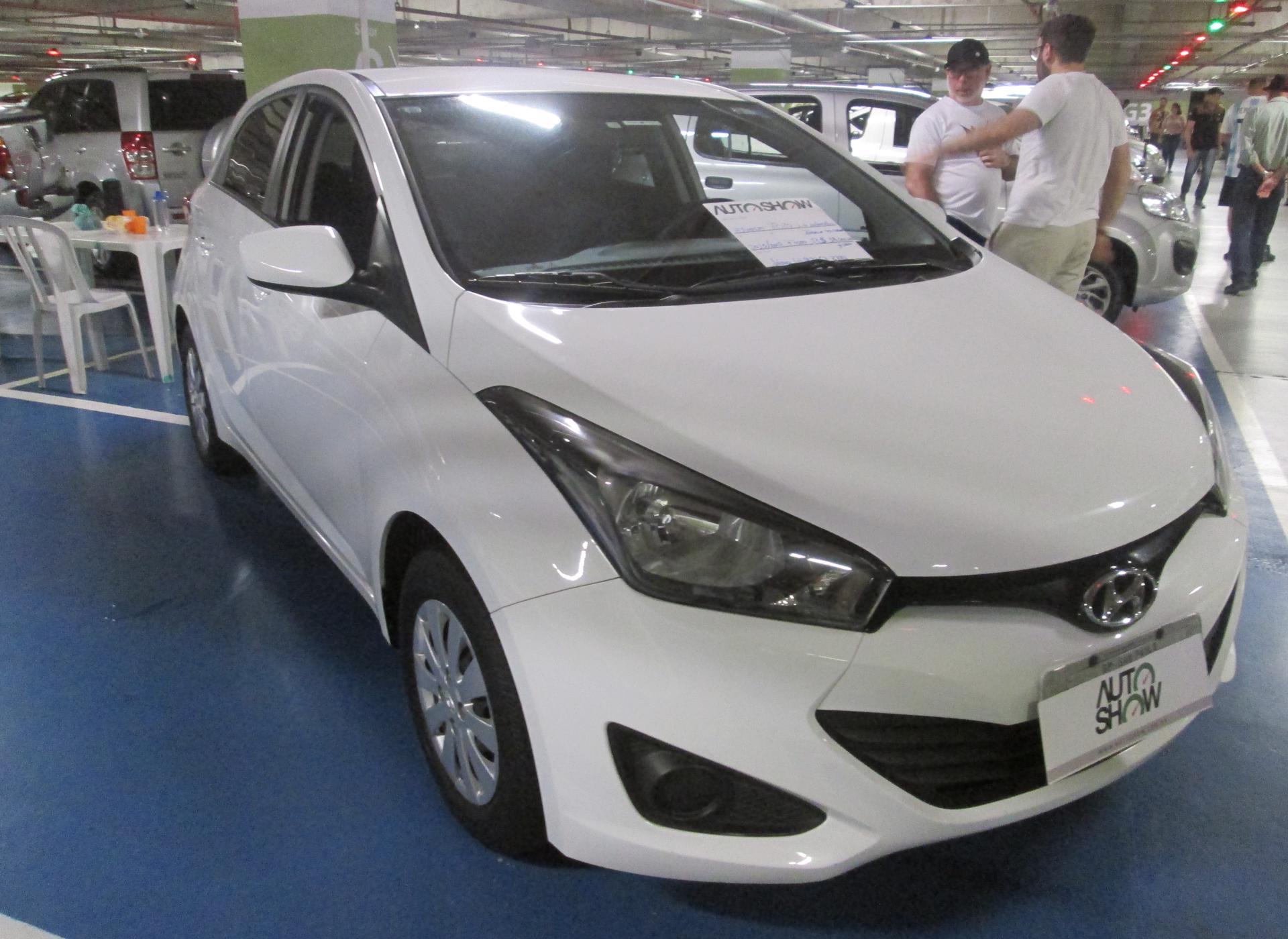 Feirão Auto Show Shopping ABC - HYUNDAI HB20 PREMIUM 1.6 FLEX 16V MEC. 2015-2015