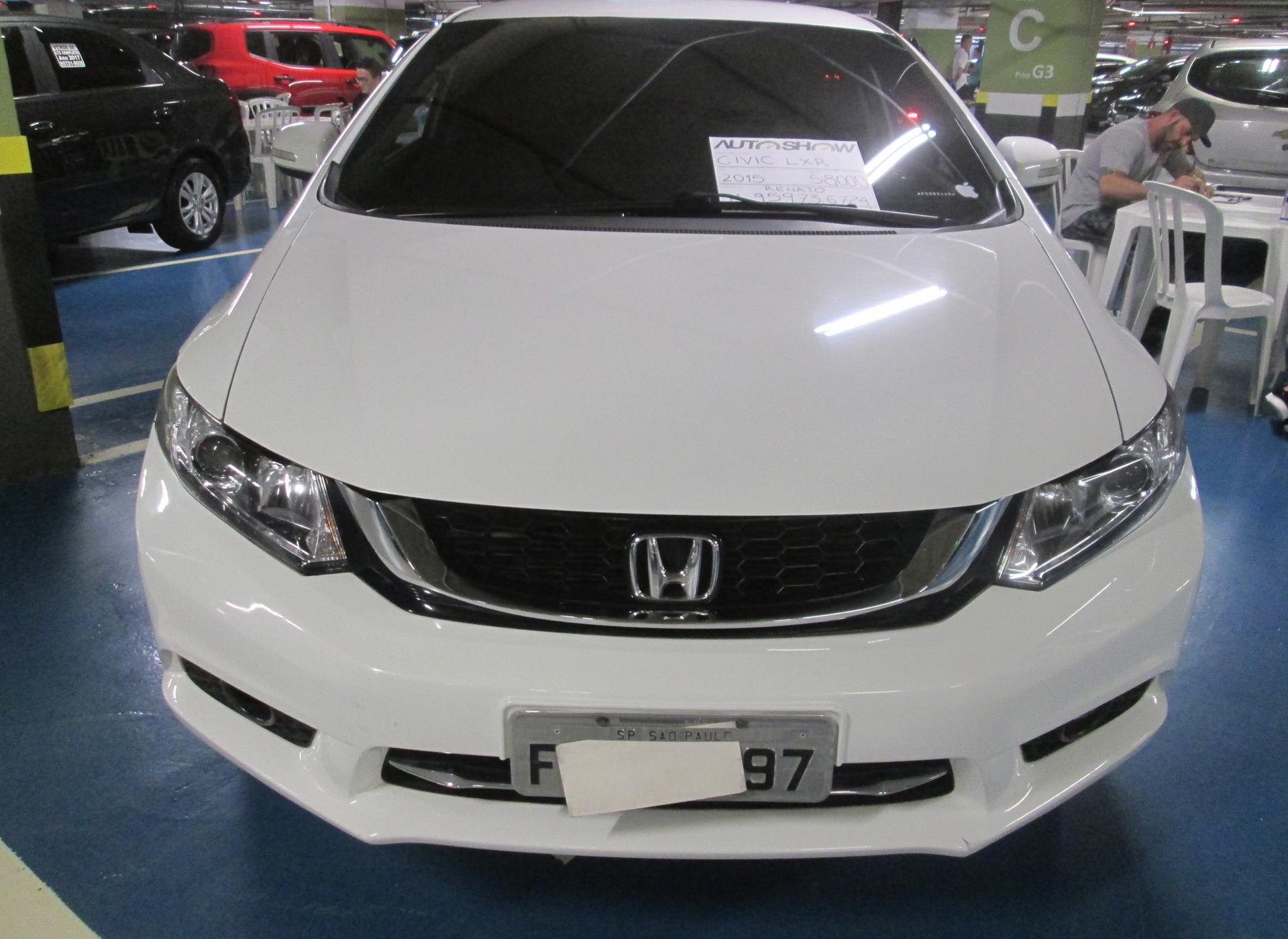 Feirão Auto Show Shopping ABC - HONDA CIVIC SEDAN LXR 2.0 FLEXONE 16V AUT. 4P 2015-2015
