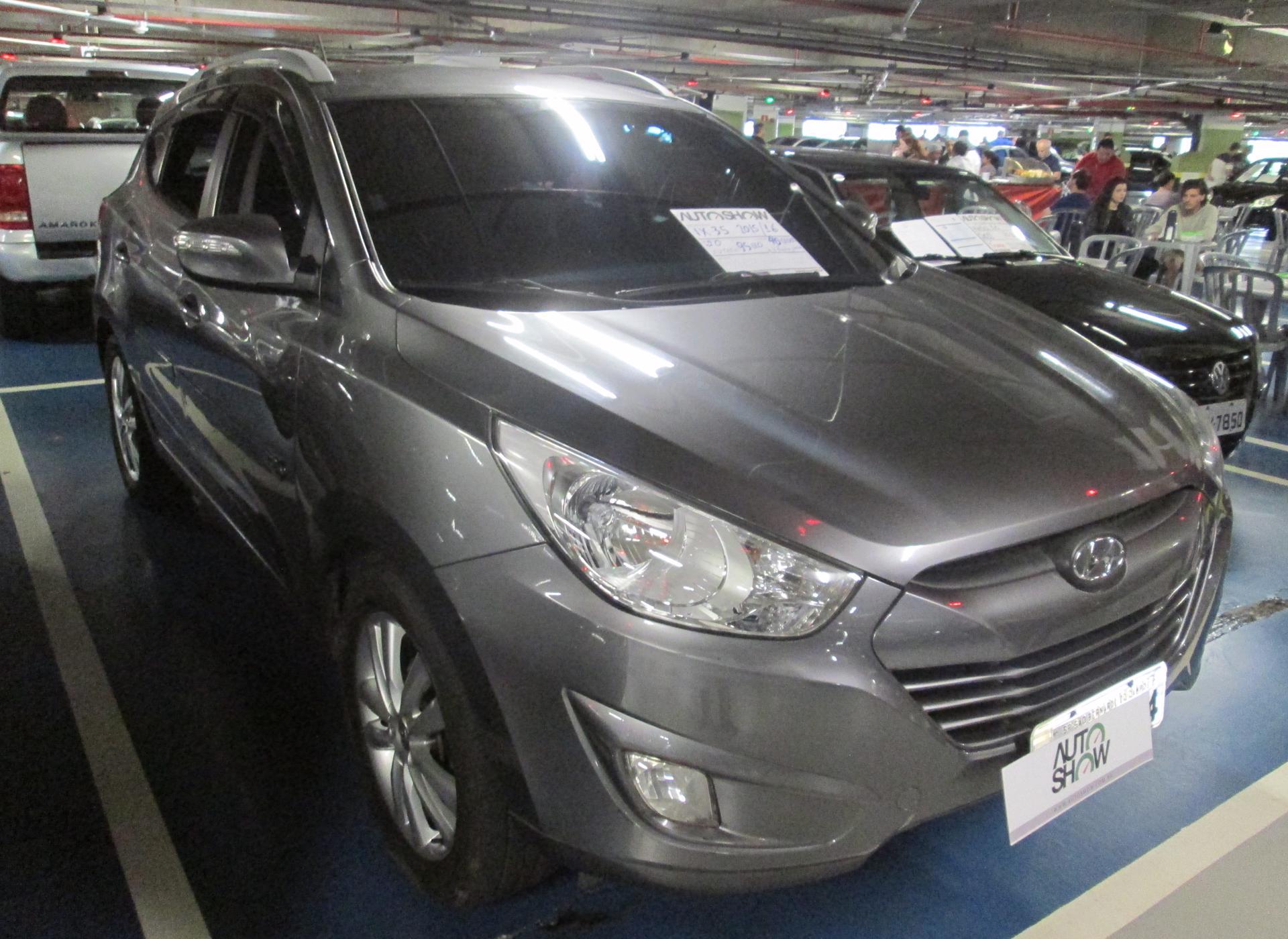 Feirão Auto Show Shopping ABC - HYUNDAI IX35 GLS 2.0 16V 2WD FLEX AUT. 2015-2016
