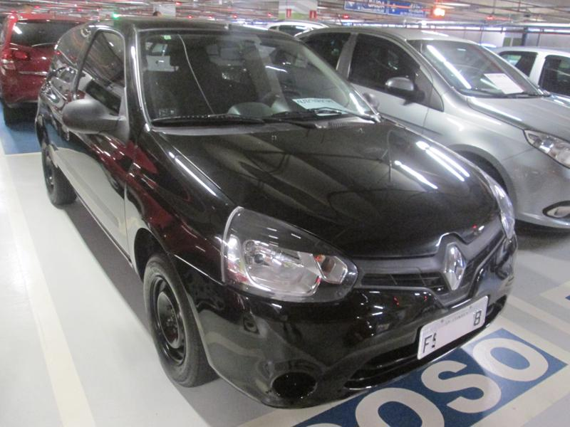 Feirão Auto Show Shopping ABC - RENAULT CLIO AUTHENTIQUE 1.0/1.0 HI-POWER 16V 3P 2014-2014