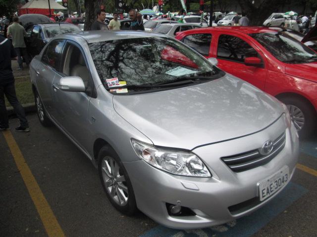 Feirão Auto Show Anhembi - TOYOTA COROLLA SE-G 1.8/1.8 FLEX 16V AUT. 2008-2009