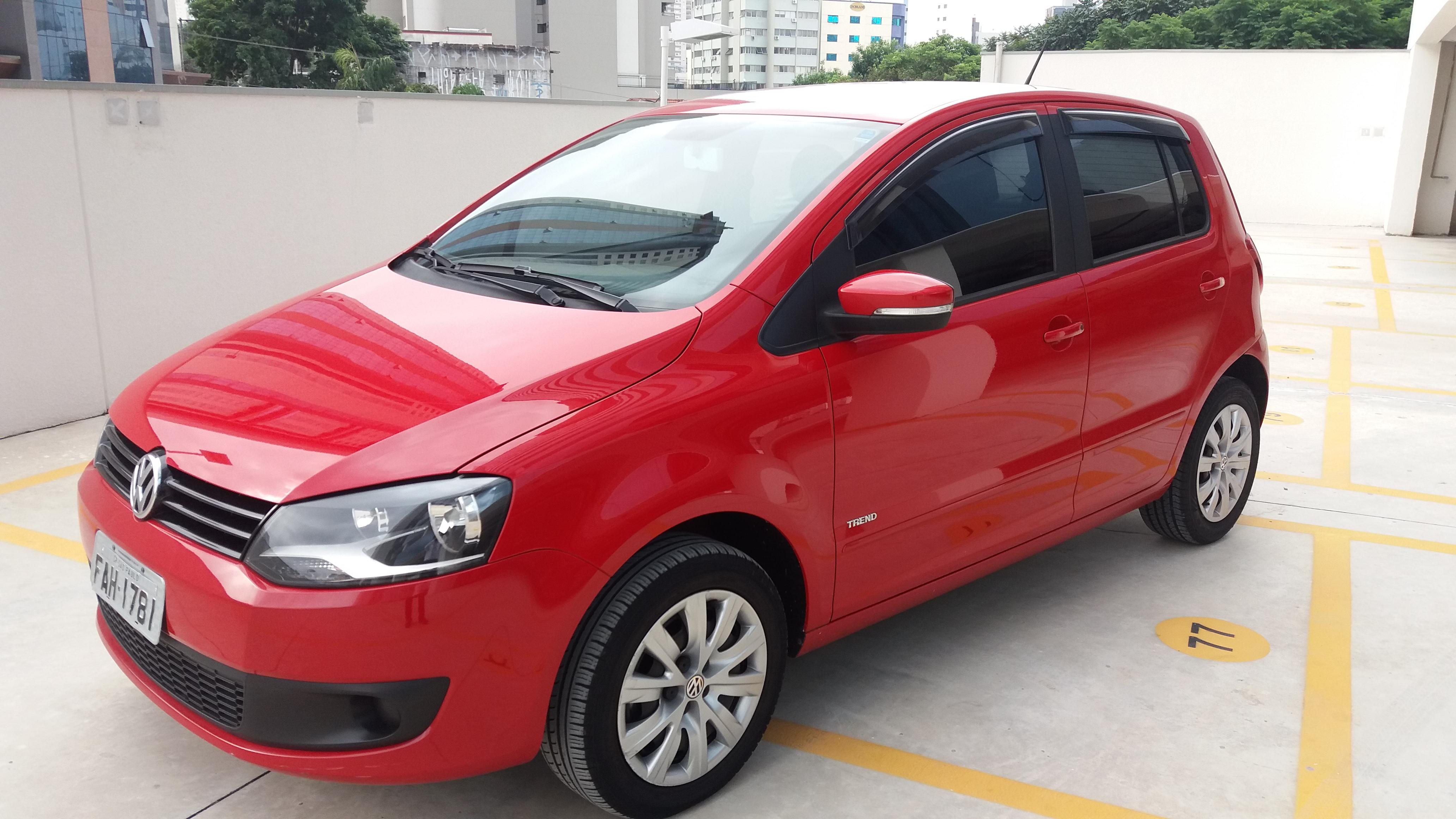 Feirão Auto Show Anhembi - volkswagen fox 1.6 MI TOTAL FLEX 8V 5P 2012-2013
