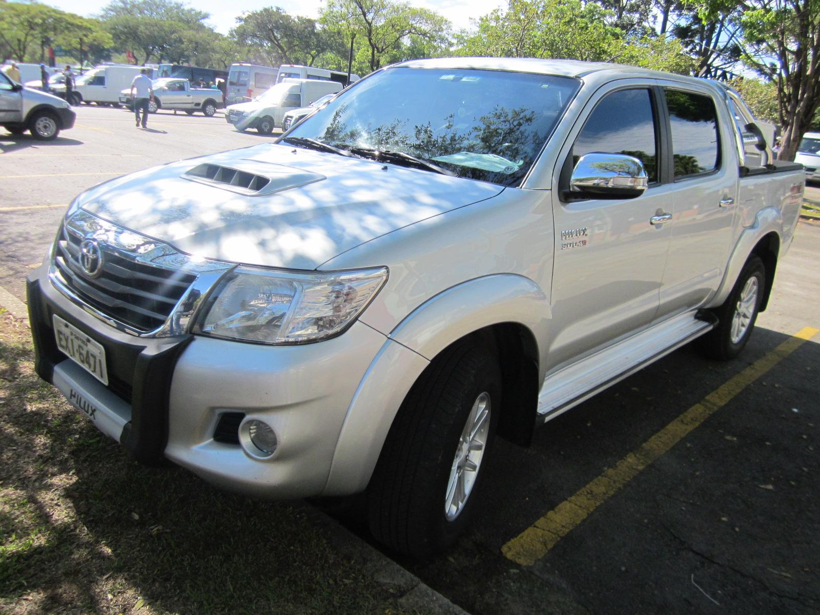 Feirão Auto Show Anhembi - TOYOTA HILUX CD SRV D4-D 4X4 3.0  TDI DIES 2011-2012