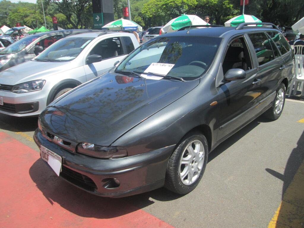 Feirão Auto Show Anhembi - FIAT MAREA WEEKEND ELX 2.0 20V 4P 2000-2001
