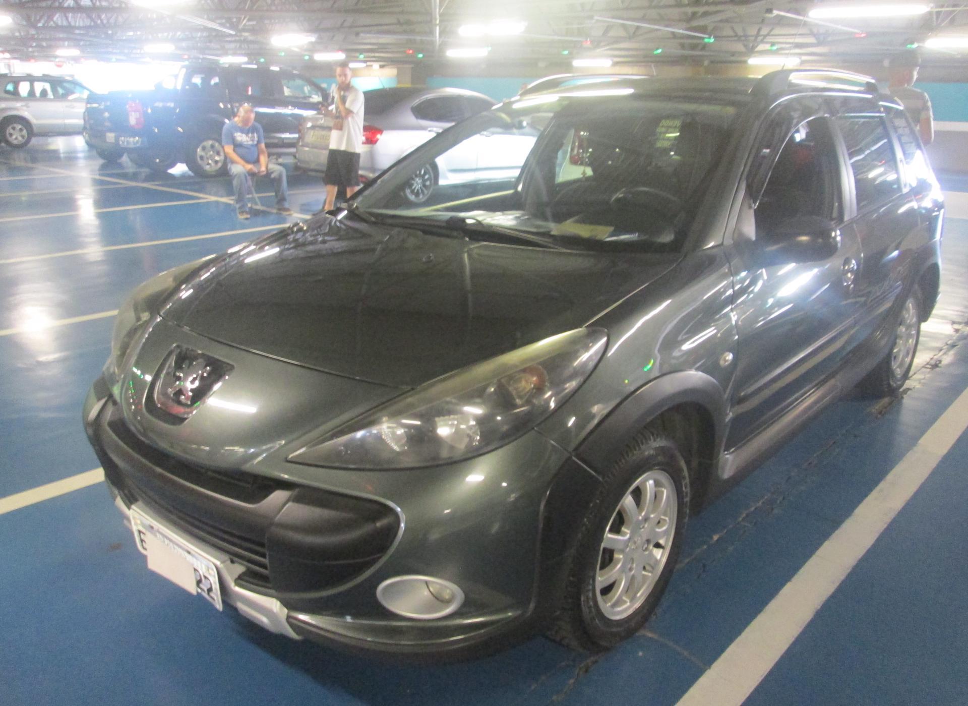 Feirão Auto Show Shopping ABC - PEUGEOT 207 SW ESCAPADE 1.6 16V FLEX 5P 2009-2010