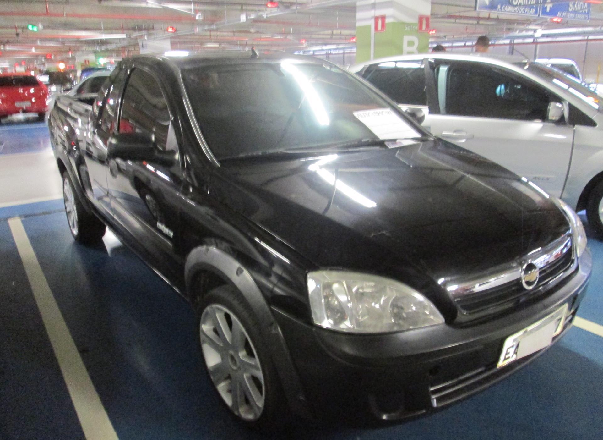 Feirão Auto Show Shopping ABC - CHEVROLET MONTANA 1.4 8V CONQUEST ECONOFLEX  2P 2009-2010