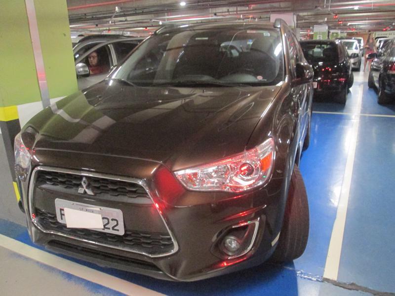 Feirão Auto Show Shopping ABC - MITSUBISHI ASX 2.0 16V  4X4 AUT.(BY ARMURA-BLIND.) 2015-2015
