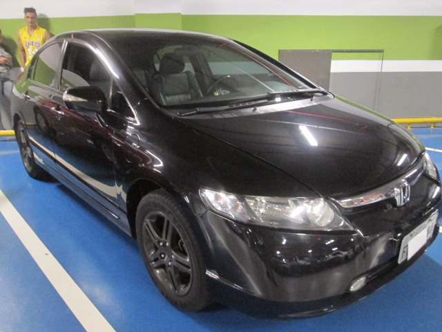Feirão Auto Show Shopping ABC   HONDA CIVIC SEDAN EXS 1.8/1.8 FLEX 16V AUT
