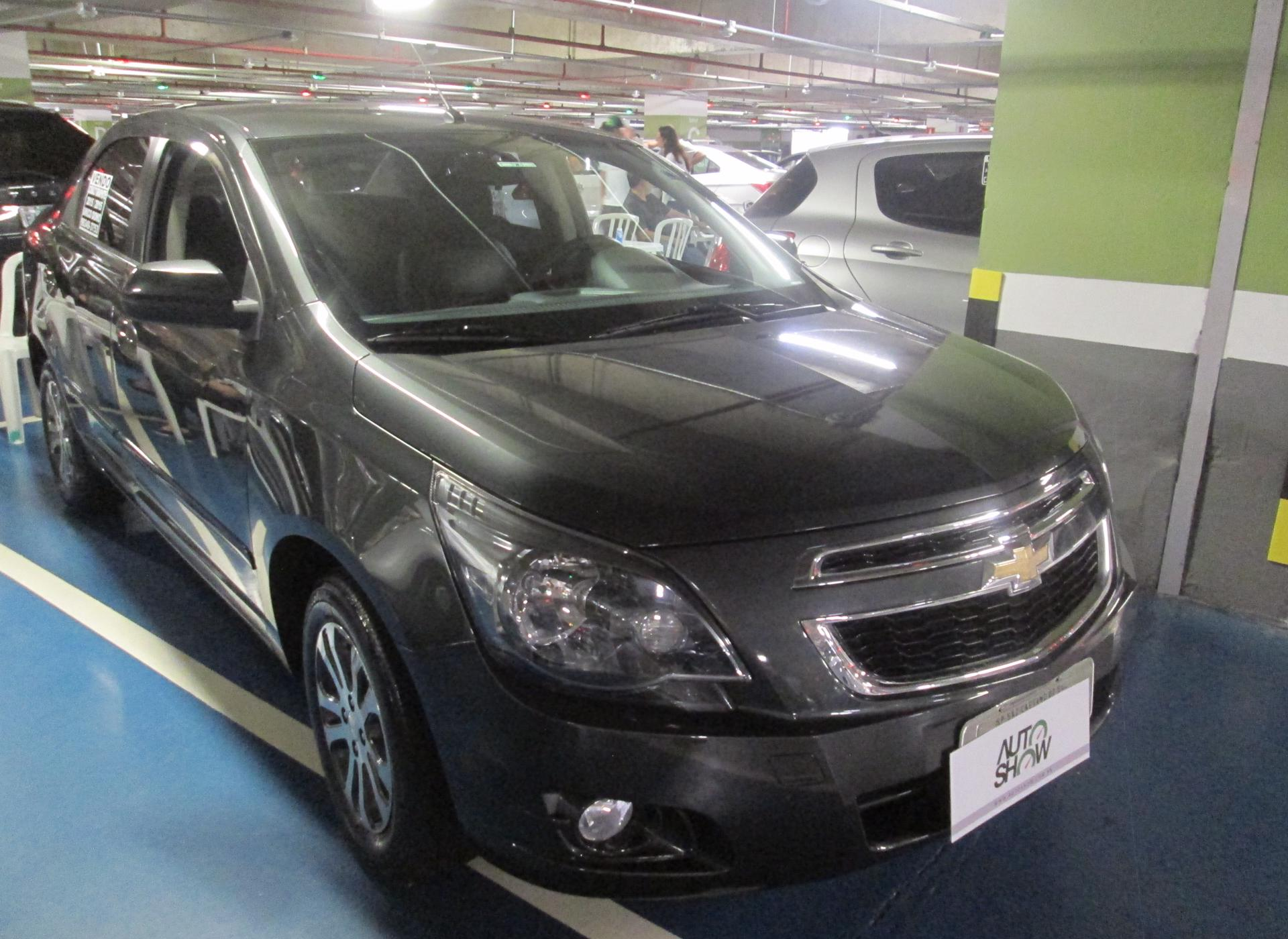Feirão Auto Show Shopping ABC - CHEVROLET COBALT GRAPHITE 1.8 8V ECONO.FLEX 4P AUT 2015-2015