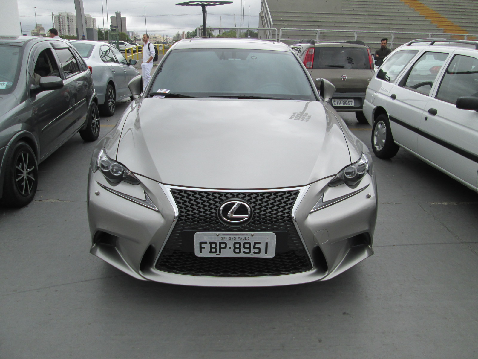 AutoShow Anhembi - LEXUS IS-250 2015