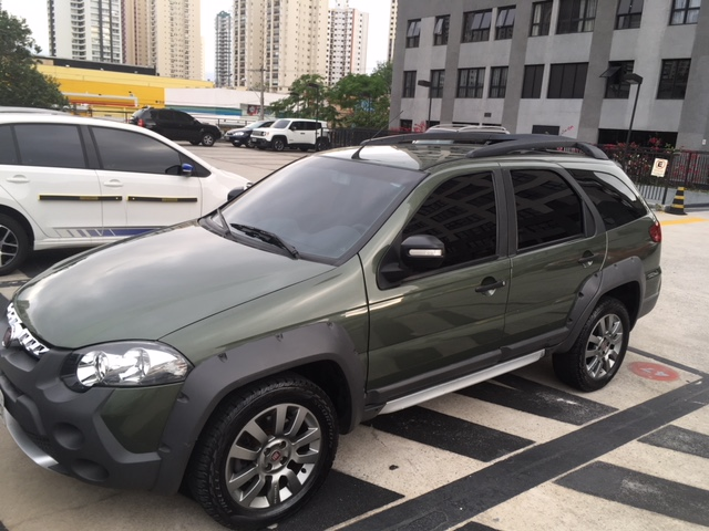Feirão Auto Show Anhembi - fiat palio WEEKEND ADVENTURE LOCKER 1.8 FLEX 2014-2015