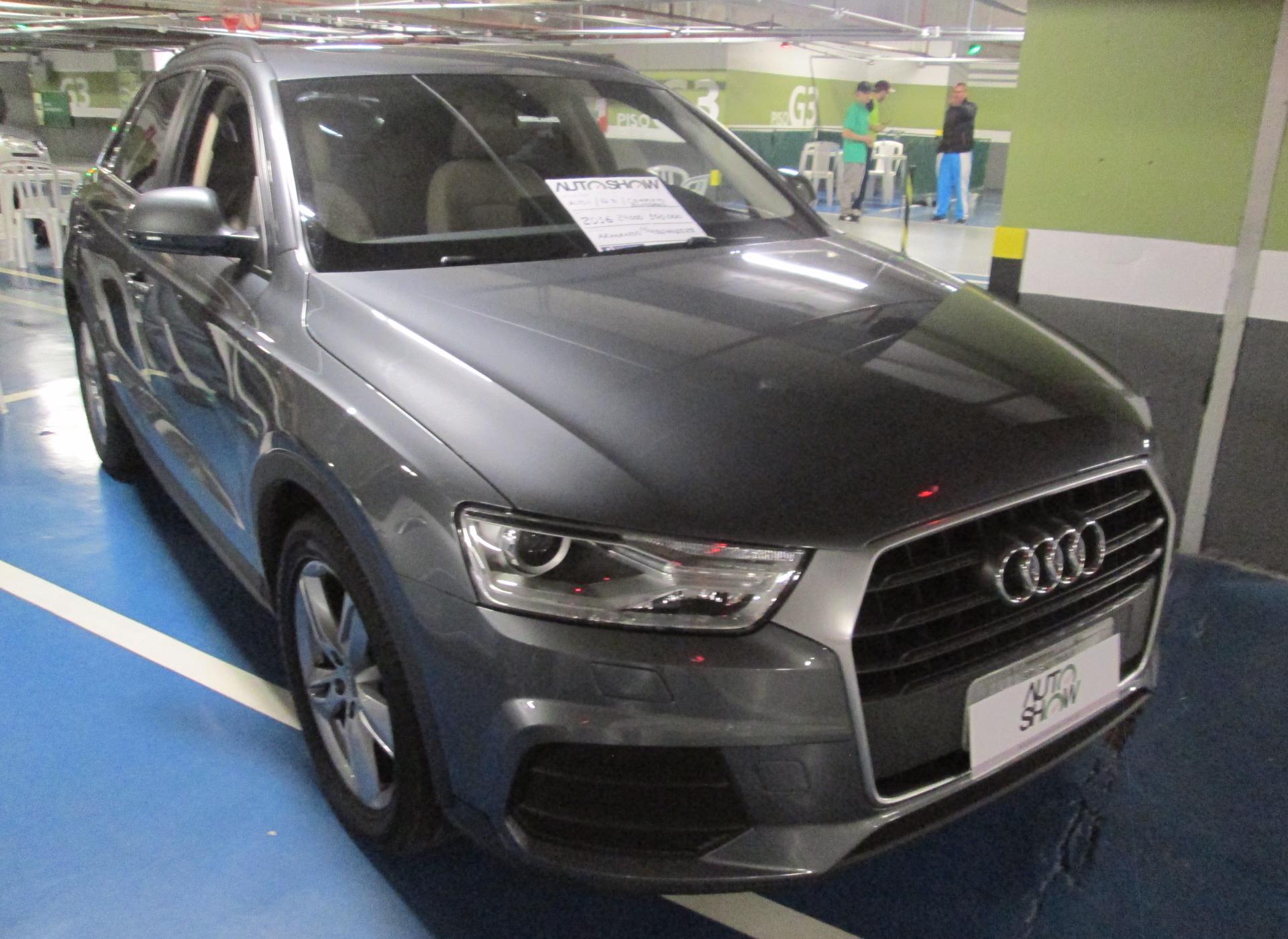 Feirão Auto Show Shopping ABC - AUDI Q3 1.4 TFSI/TFSI FLEX S-TRONIC 5P 2016-2016