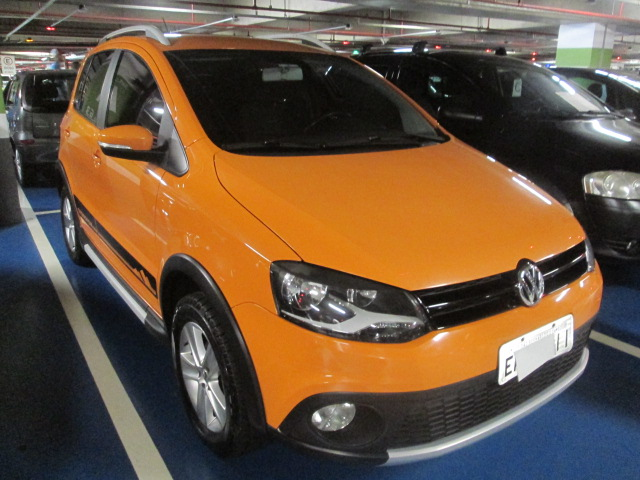 Feirão Auto Show Shopping ABC - VOLKSWAGEN CROSSFOX 1.6 MI TOTAL FLEX 8V 5P 2010-2011