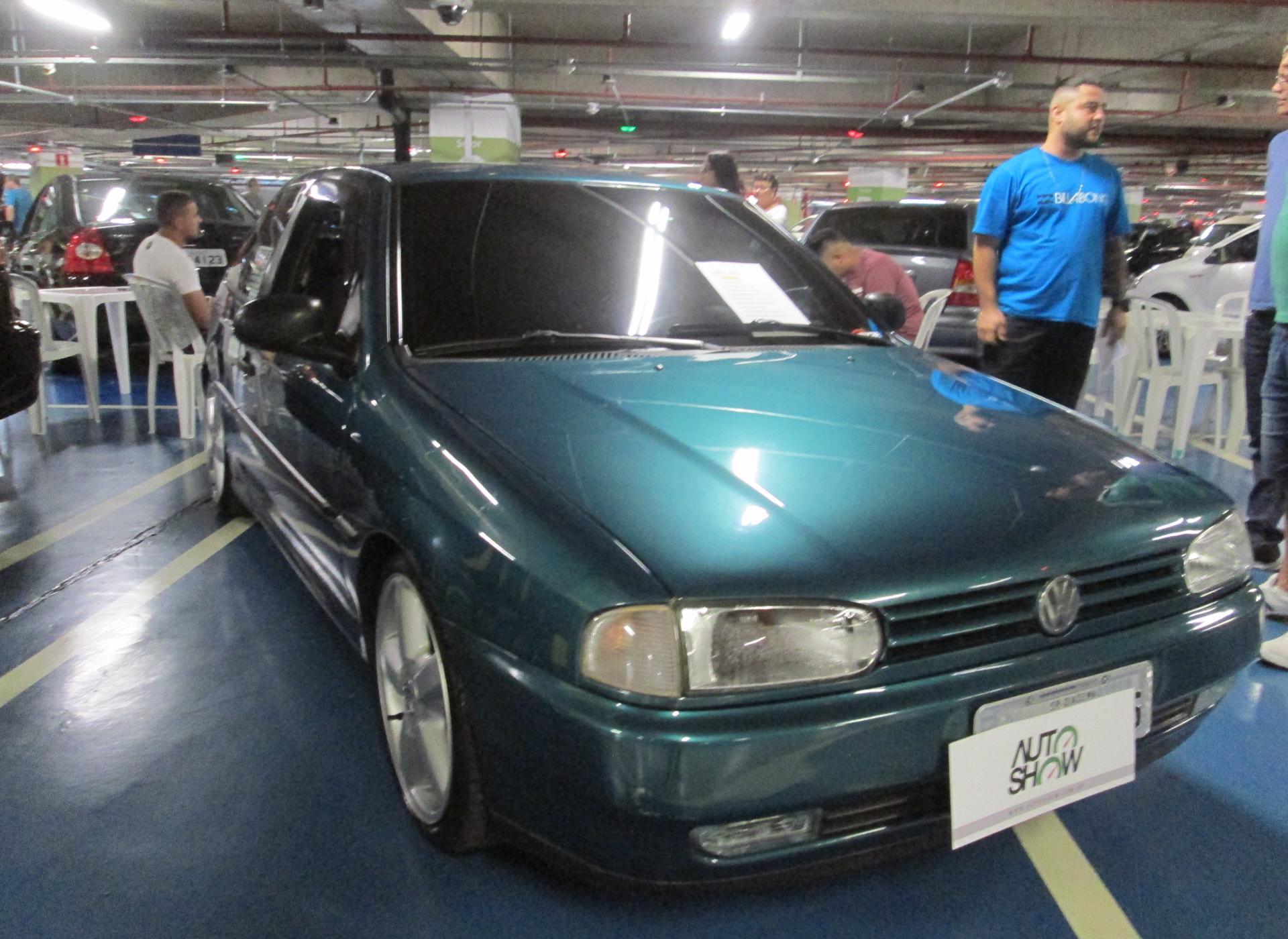 Feirão Auto Show Shopping ABC - VOLKSWAGEN GOL CLI / CL 1.8 1996-1996