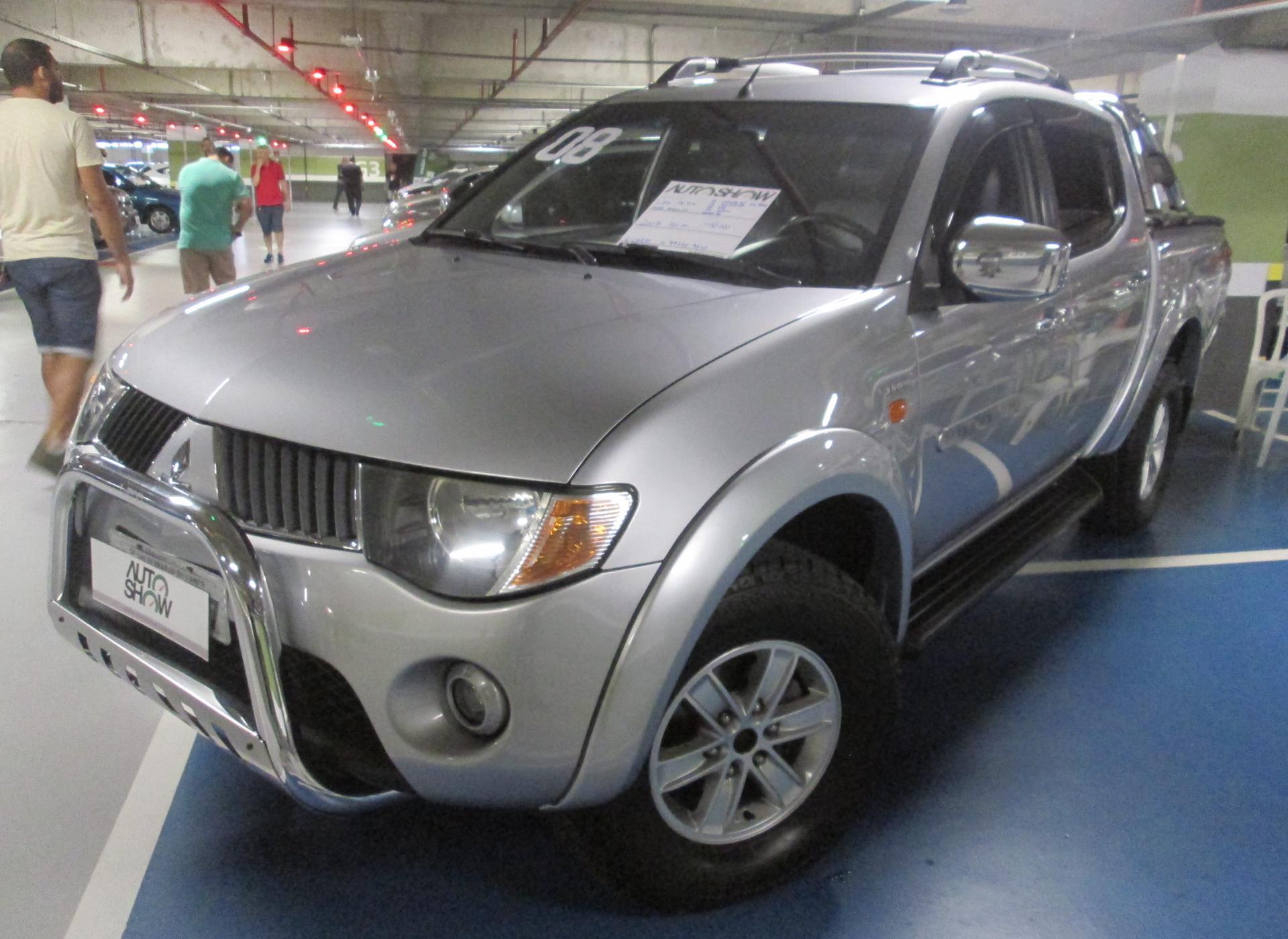 Feirão Auto Show Shopping ABC - MITSUBISHI L200 TRITON HPE 3.5 CD V6 24V FLEX AUT. 2007-2008