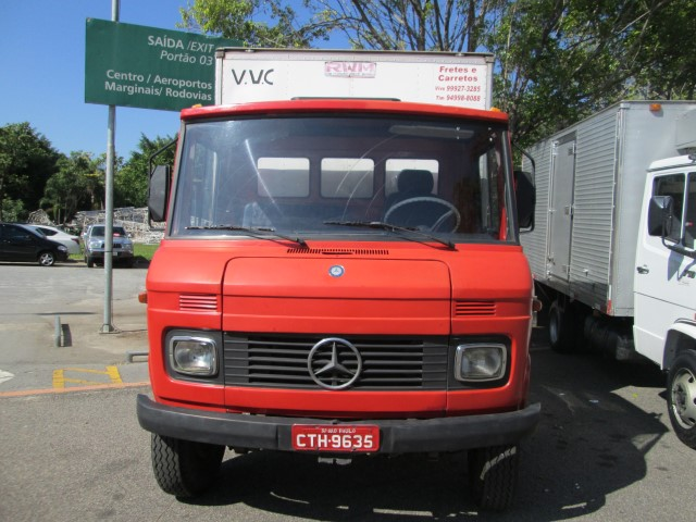 AutoShow Anhembi - MERCEDES-BENZ 608 1981
