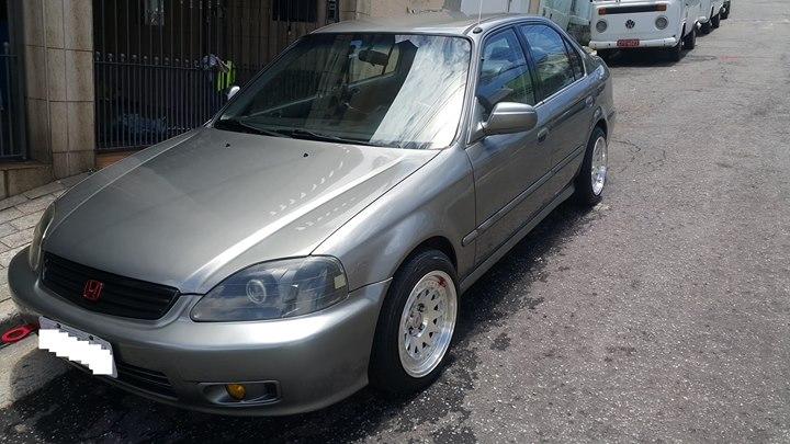 Feirão Auto Show Autoshow   HONDA CIVIC SEDAN LX 1.6 16V AUT. 4P 2000