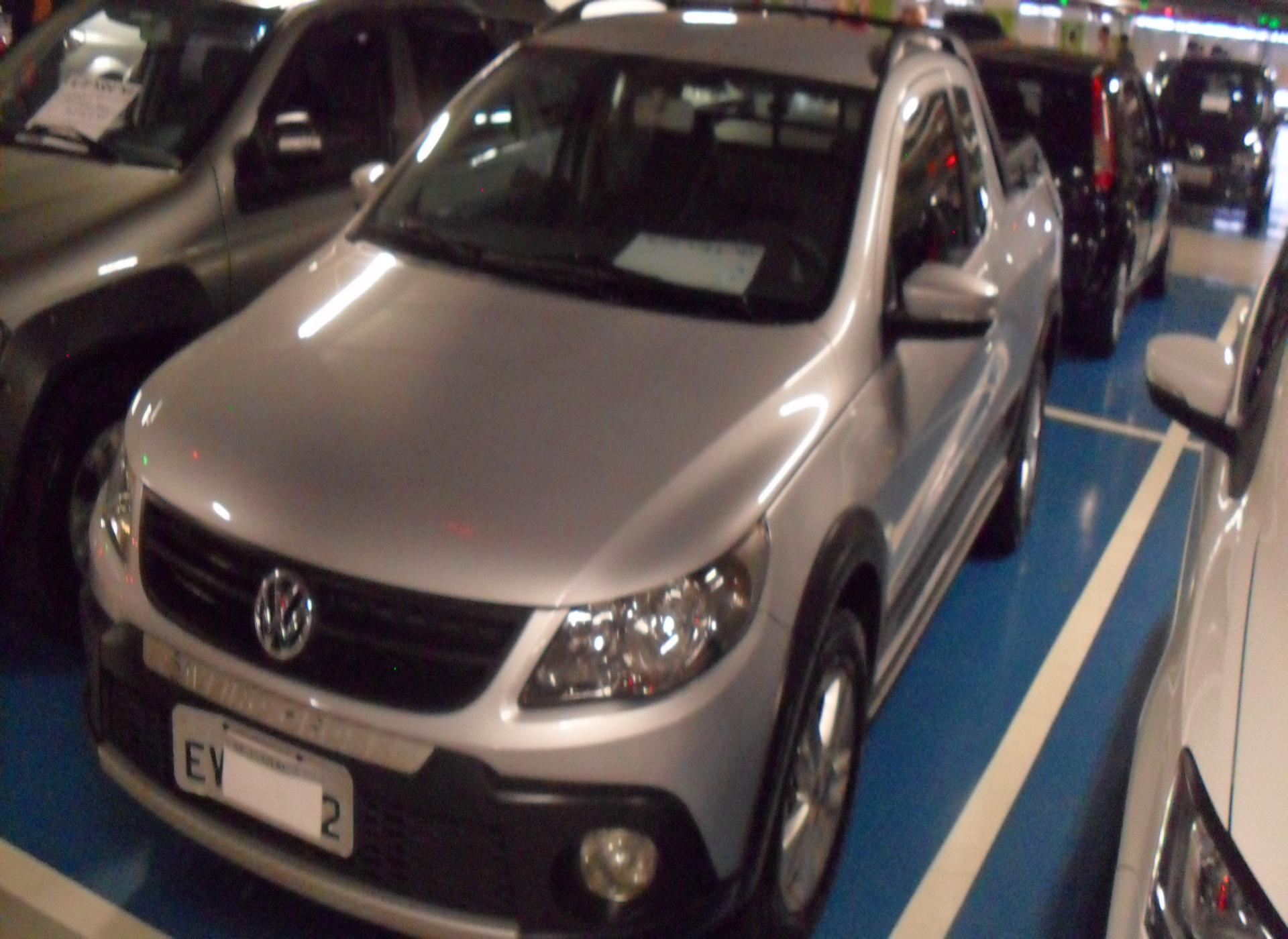 Feirão Auto Show Shopping ABC - VOLKSWAGEN SAVEIRO CROSS 1.6 MI TOTAL FLEX 8V CE 2013-2013