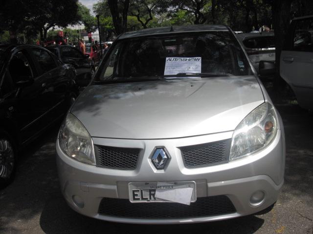Feirão Auto Show Anhembi - RENAULT SANDERO EXPRESSION HI-FLEX 1.0 16V 5P 2009-2010