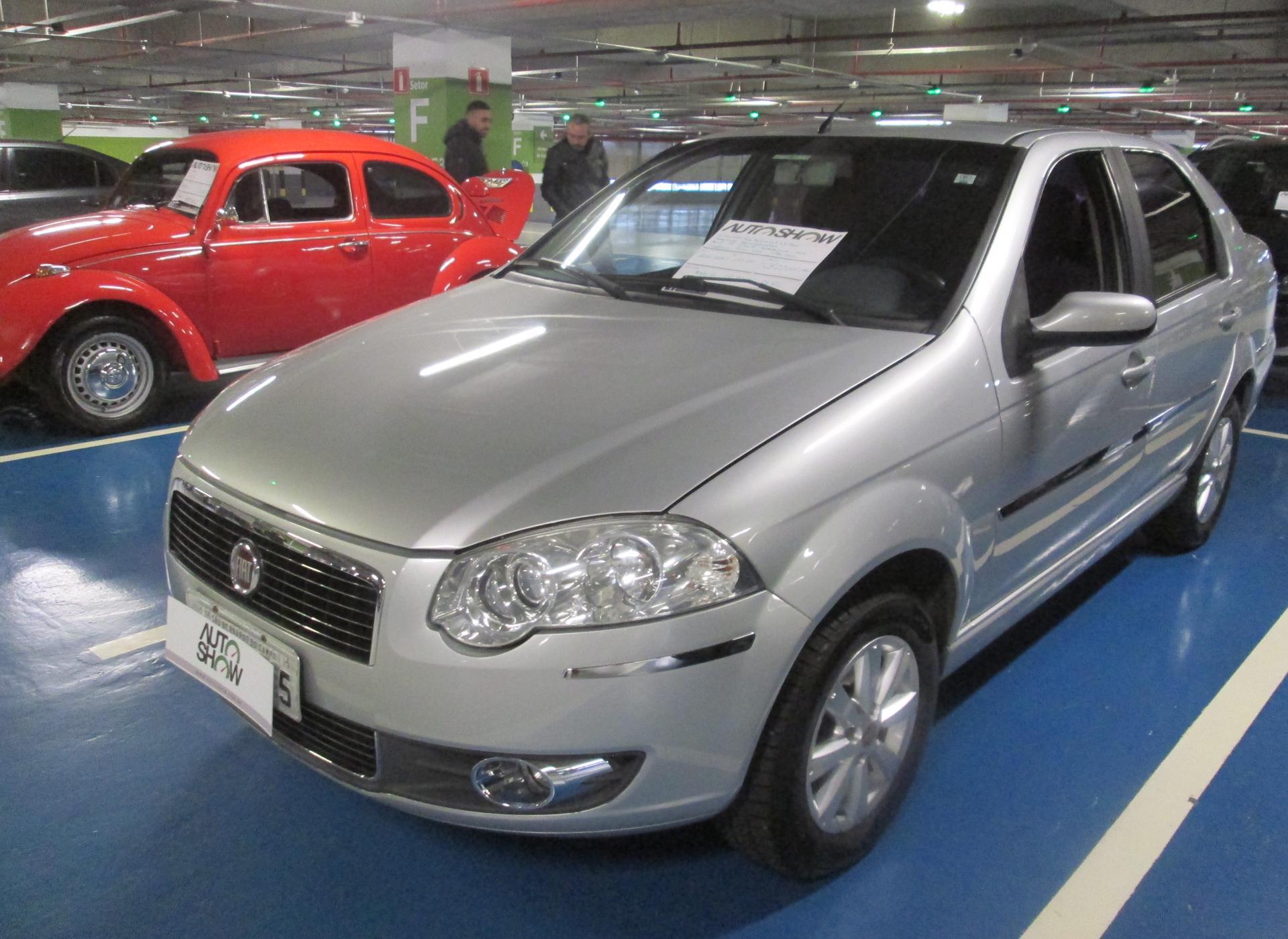 Feirão Auto Show Shopping ABC - FIAT SIENA ELX 1.4 MPI FIRE FLEX 8V 4P 2010-2010