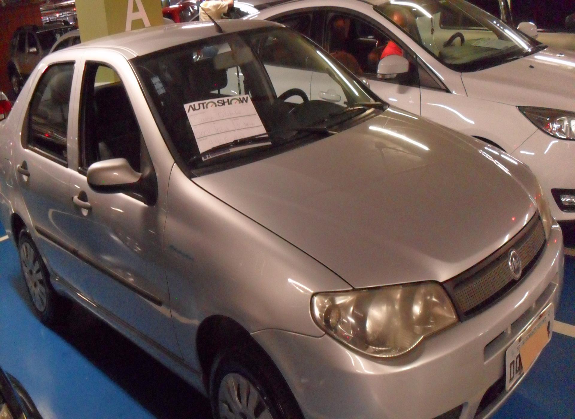 Feirão Auto Show Shopping ABC - FIAT SIENA CELEBRATION 1.0 FIRE FLEX 8V 4P 2008-2008