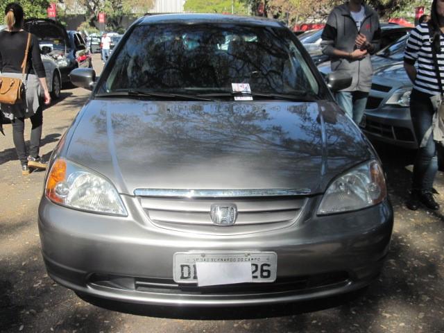 Feirão Auto Show Anhembi   HONDA CIVIC LX 1.6 / 4 PTS MANUAL 2001 2001
