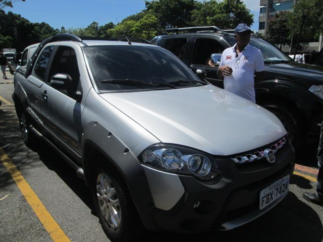 Feirão Auto Show Anhembi - FIAT STRADA 1.8 FLEX / MANUAL 2 PTS 2013-2013