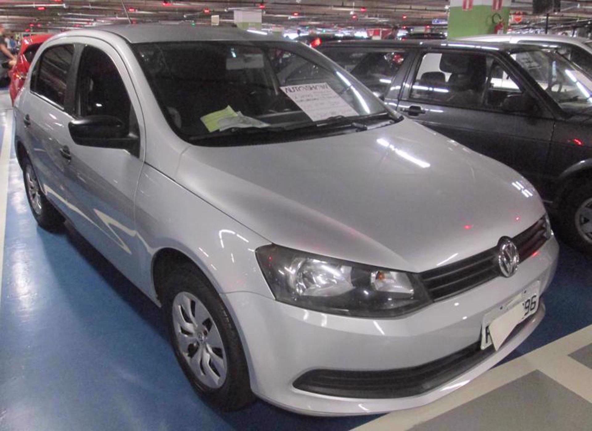 Feirão Auto Show Shopping ABC - VOLKSWAGEN GOL (NOVO) 1.0 MI TOTAL FLEX 8V 4P 2014-2015