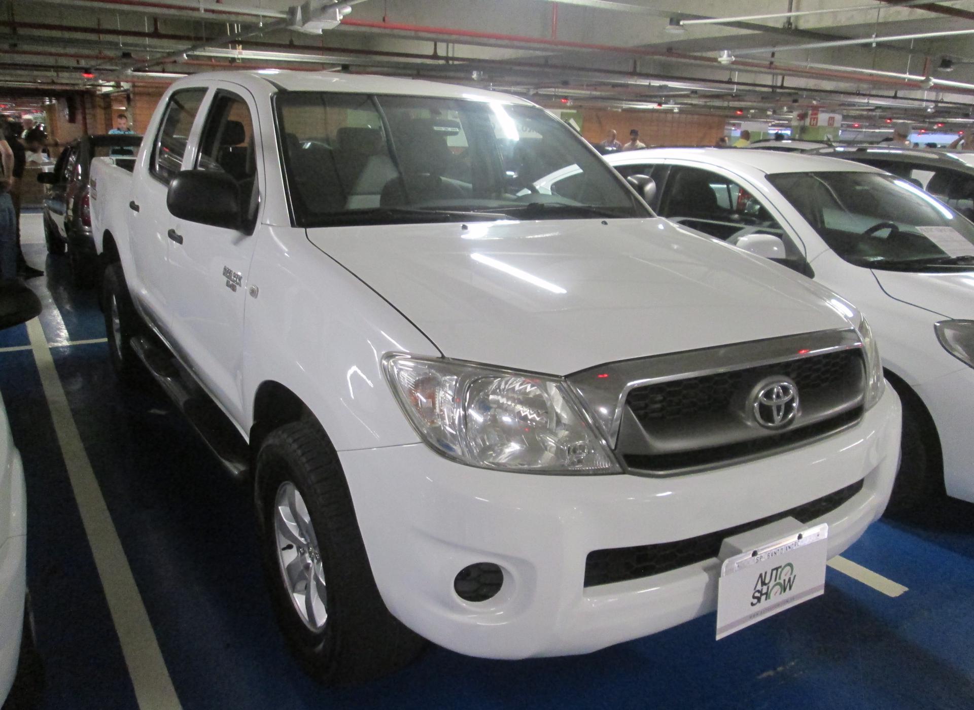 Feirão Auto Show Shopping ABC - TOYOTA HILUX CD D4-D 4X4 2.5 16V 102CV TB DIES. 2009-2009