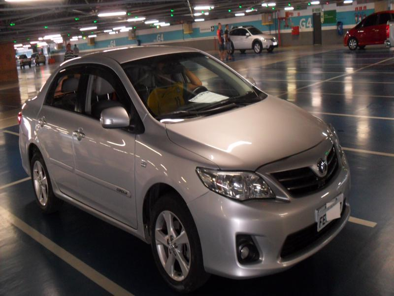 Feirão Auto Show Shopping ABC - TOYOTA COROLLA XEI 2.0 FLEX 16V AUT. 2012-2013