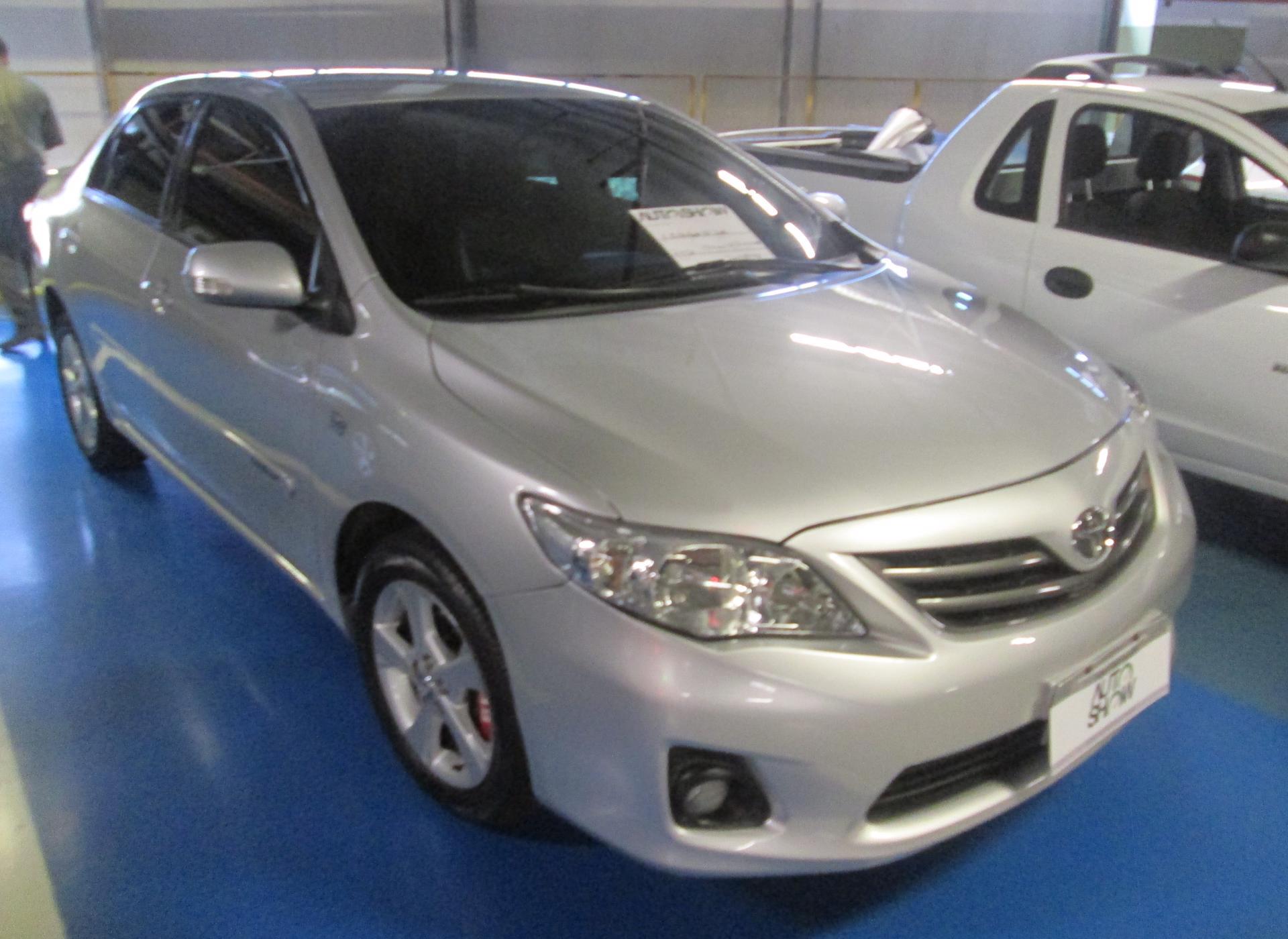 Feirão Auto Show Shopping ABC - TOYOTA COROLLA XEI 2.0 FLEX 16V AUT. 2012-2012