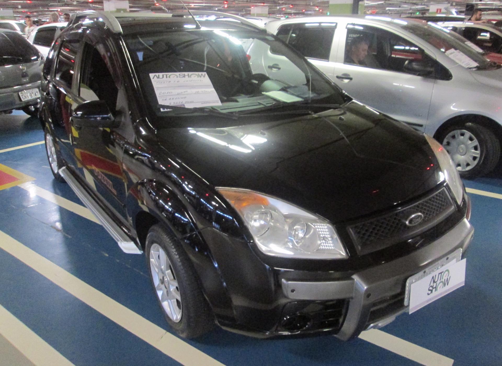 Feirão Auto Show Shopping ABC - FORD FIESTA 1.6 8V FLEX/CLASS 1.6 8V FLEX 5P 2010-2010