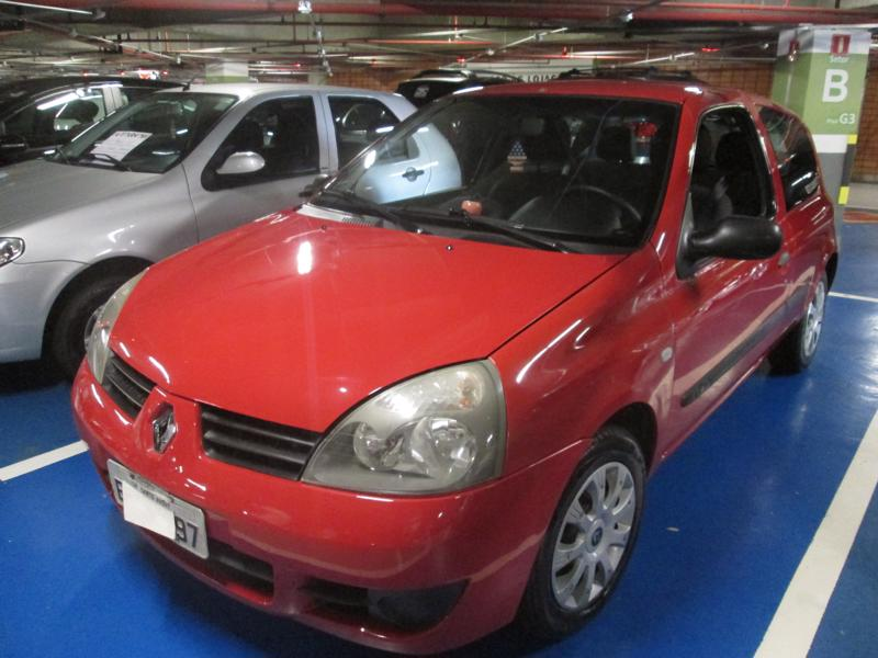 Feirão Auto Show Shopping ABC - RENAULT CLIO AUTHENTIQUE 1.0 8V 3P 2008-2008
