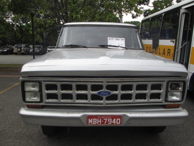 AutoShow Anhembi - FORD F-4000 1986