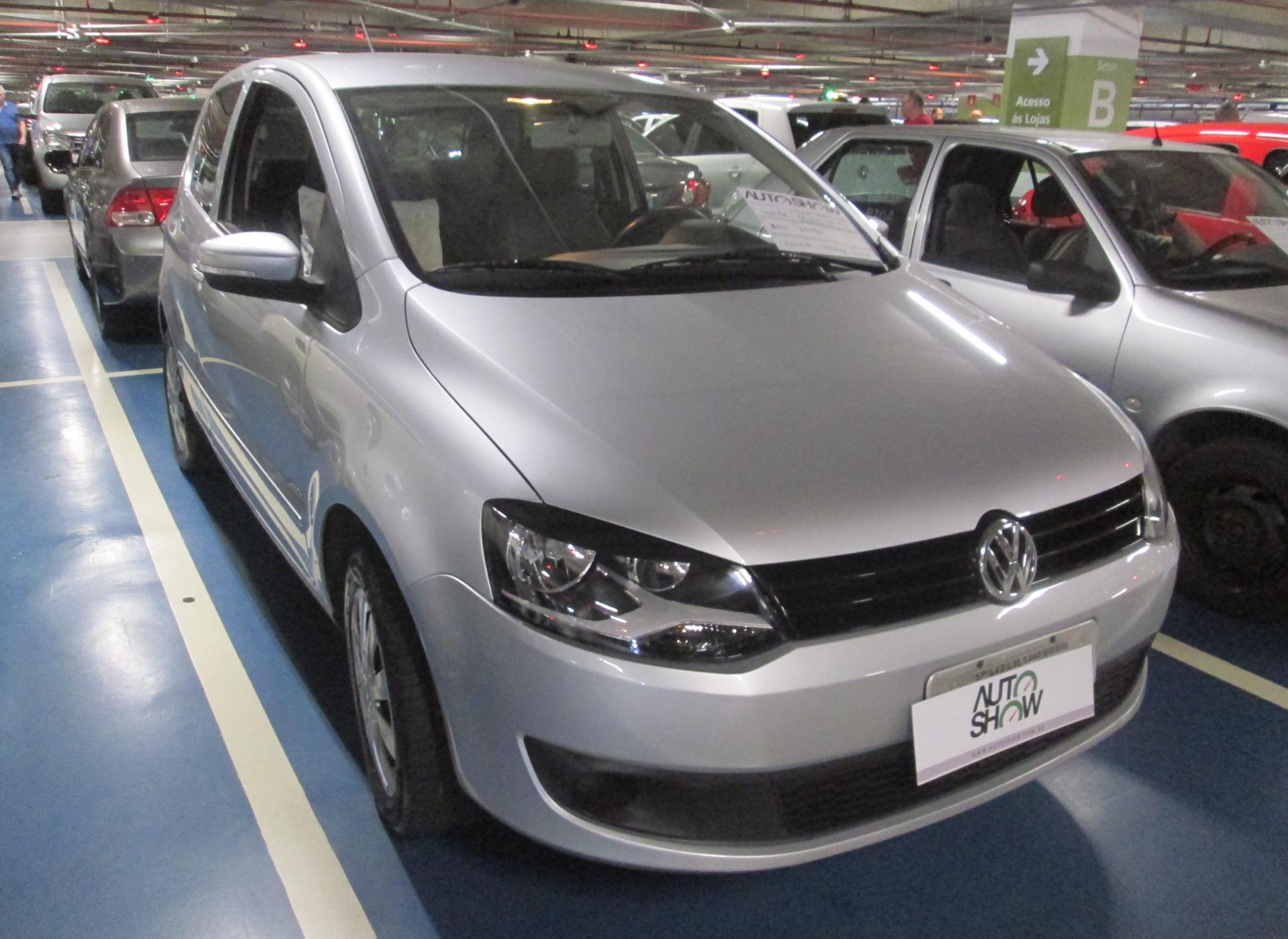 Feirão Auto Show Shopping ABC - VOLKSWAGEN FOX 1.0 MI TOTAL FLEX 8V 5P 2011-2011