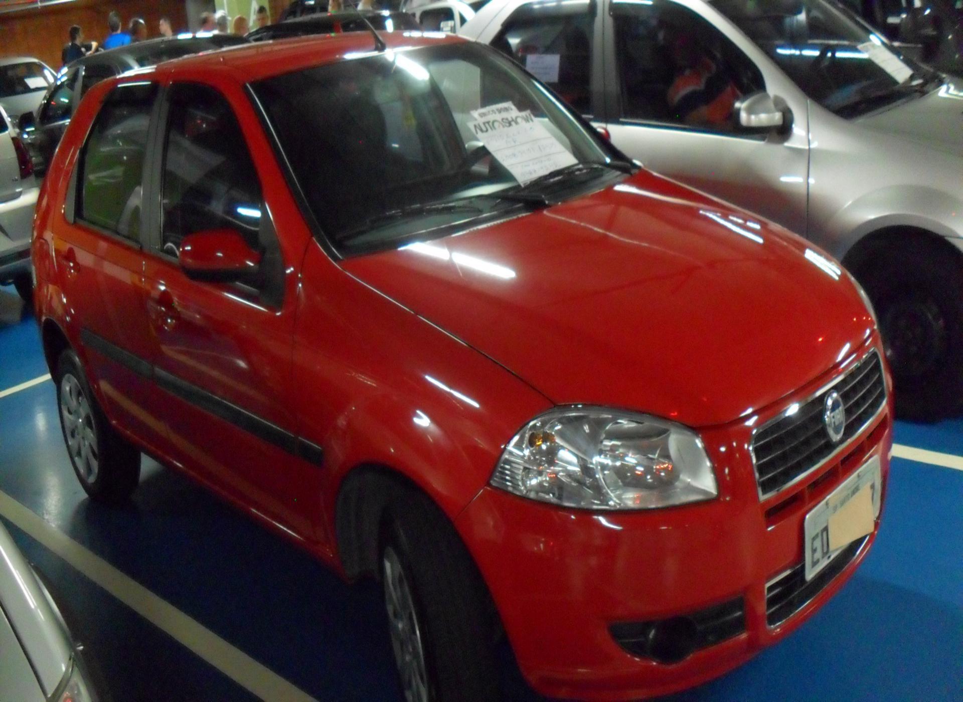 Feirão Auto Show Shopping ABC - FIAT PALIO ELX 1.0 FIRE/30 ANOS F. FLEX 8V 4P 2008-2008